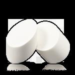 乐活自然美妆工具-椭圆形化妆海绵(2块装)
