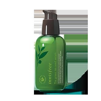 绿茶籽精萃水分菁露 80ml-小绿瓶 16年新包装