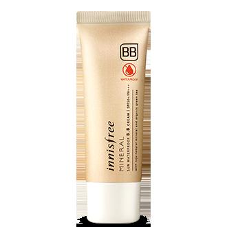 矿物质纯安多效防护修颜乳-防水防晒BB霜 2色可选