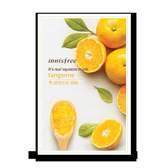 悦诗风吟真萃鲜润面膜-柑橘-10月新品