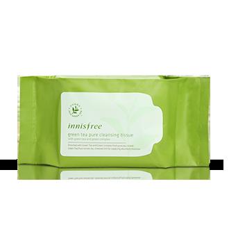 绿茶精萃清颜洁肤湿巾 30片