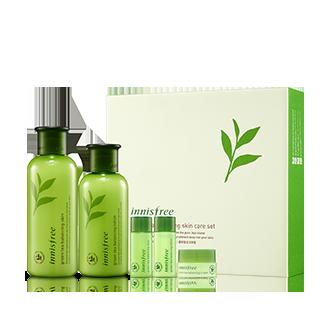 绿茶精萃平衡保湿特别套装  2月特惠
