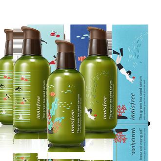 悦诗风吟绿茶籽精萃水分菁露-小绿瓶 16年环保限量版