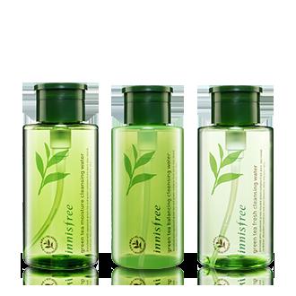 绿茶精萃保湿清润 平衡 滋润卸妆液 三种肤质可选 300ml
