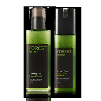 森林男士爽肤水乳液套装